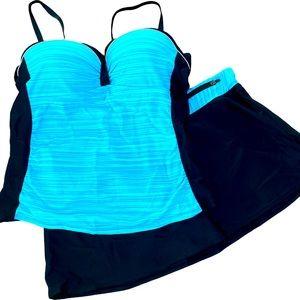 XL Two Piece Bathing Suit NWOT